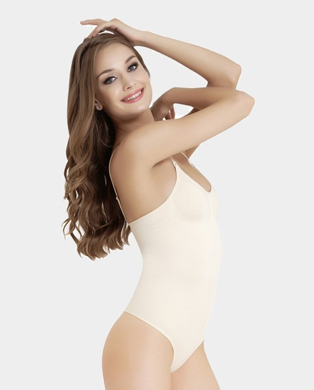 Firm-Control-Shaping-Body-Thong-beige-side